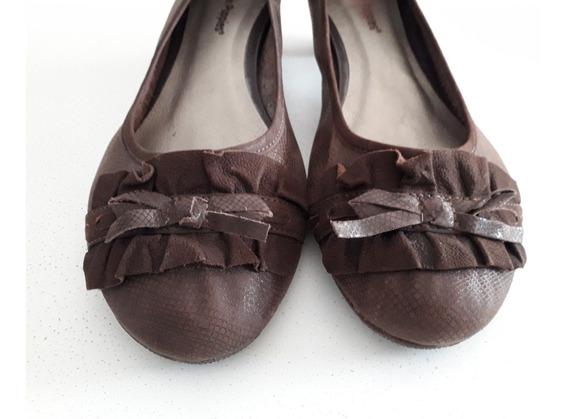 Zapatos Chatitas Marrones Hush Puppies