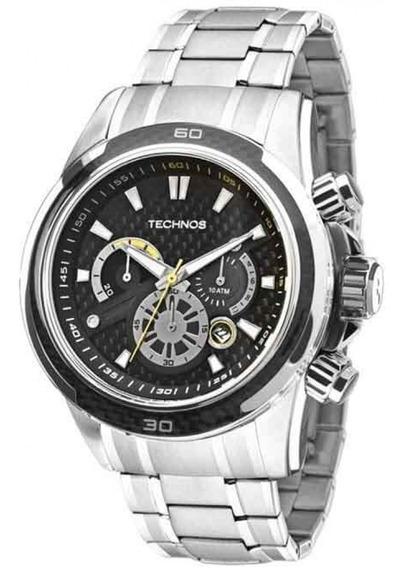 Relógio Masculino Technos Performance Carbon Js26ac/1p