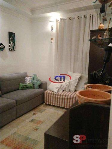 Apartamento Com 3 Dormitórios À Venda, 63 M² Por R$ 255.000,00 - Vila Jerusalém - São Bernardo Do Campo/sp - Ap3380