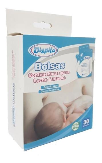 Bolsas Contenedoras Para Leche Materna Dispita X 30 Unidades