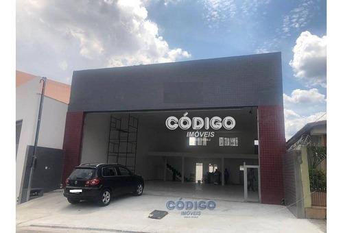 Imagem 1 de 14 de Salão Para Alugar, 240 M² Por R$ 8.500,00 - Vila Galvão - Guarulhos/sp - Sl0015