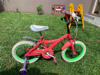 Bicicleta Niña Usada. R16. X Terra. Rock Star