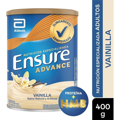 Ensure Advance Vainilla X 400gr