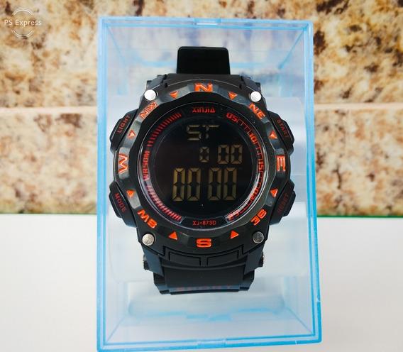 Relógio Digital Prova Dagua Original + Caixa