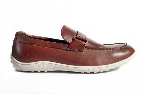Sapato Casual Mocassim Pietro Havana-39