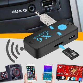 Adaptador Resector Bluetooth5.0 Carro,aux,teléfonos,equipos