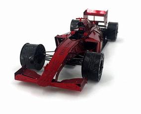 Réplica De Montar 3d Metal Model Formula 1 Ferrari