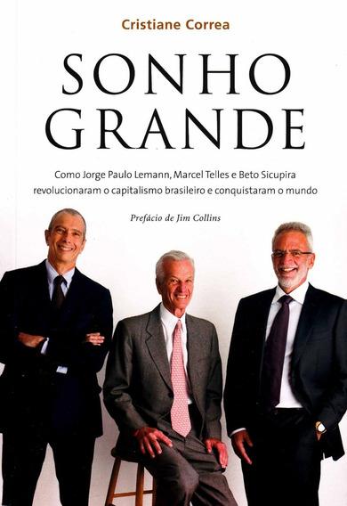 Livro Sonho Grande - Cristiane Correa (lacrado!)