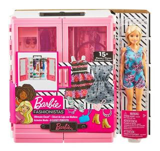 Barbie Clóset Fashionistas De Lujo Con Muñeca. Envio Gratis
