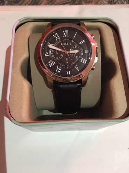 Reloj Fossil Grant Fs4812ie Garantía De Entrega Mercado Pago
