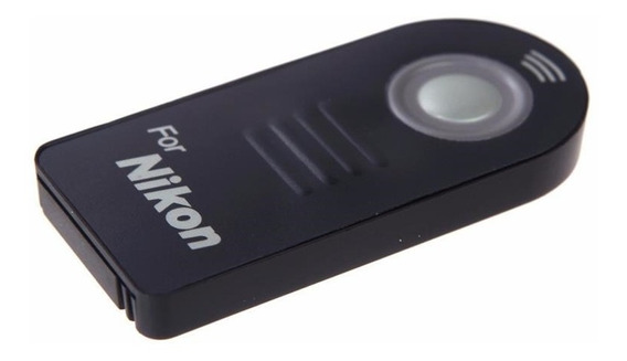 Controle Remoto Disparador Ml-l3 P/ Nikon D3300 D5300 D7200