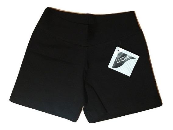 Calza Mini Short Ile Colegial Algodón Y Lycra Niñas Art.6291