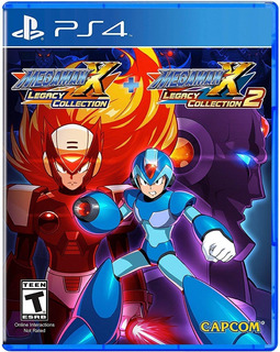 Megaman X Legacy Collection 1+2 / Juego Físico / Ps4