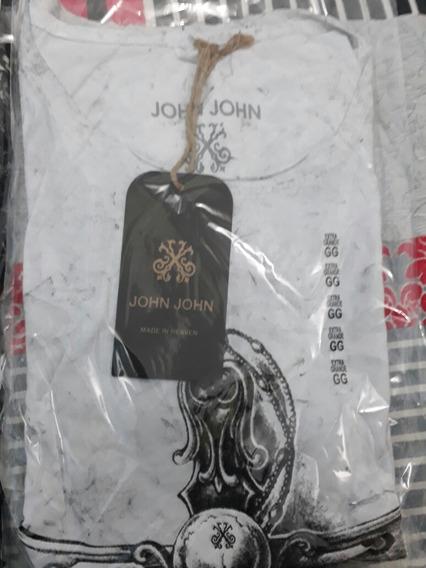 Camisa Com Manga John John