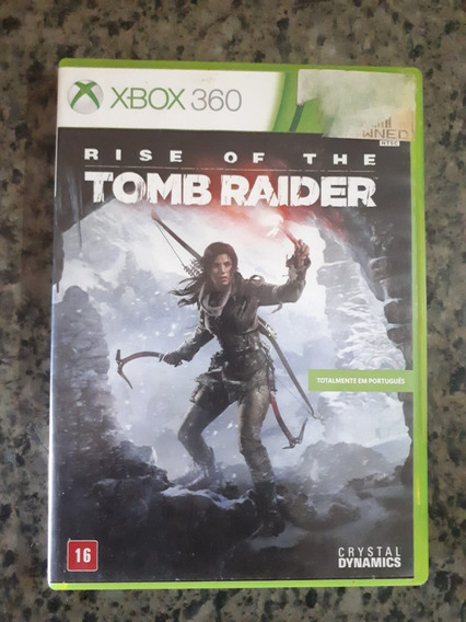 Jogo Rise Of The Tomb Raider Xbox 360 Mídia Física