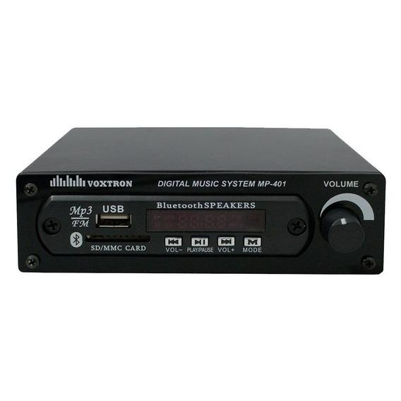 Player Voxtron By Pws Mp 401 Sd / Usb / Fm / Bluetooth