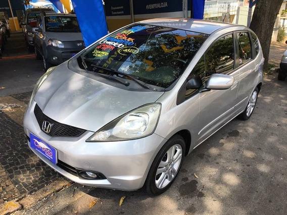 Honda Fit Ex 2010 1.5 Flex Automático Prata