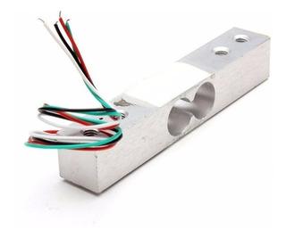 Sensor De Peso 2 Kg, Celda De Carga, Galga Extensiometrica.