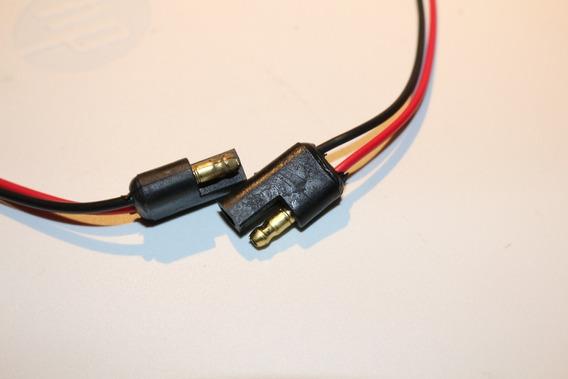 Conector Empalme Polarizado 12v 2 Vias Baja Potencia