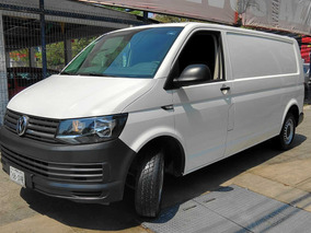 Impecable Camionegta Vw Transporter 2.0 Cargo Van Mt 2016