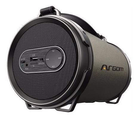 Imagen 1 de 5 de Argom Arg-sp-3122bn Bazooka Beats Parlante Bluetooth 12 Watt