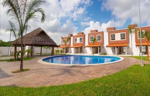 Se Renta Hermosa Casa En Privadas Turquesa En Cancún
