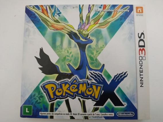 Pokemon X Nintendo 3ds Completo Mídia Física Original