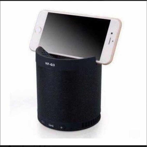 Caixinha Som Portatil Q3 H-maston Bluetooth Mp3 Pen Drive Fm