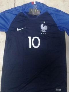 Camisa Da França Copa Do Mundo 2018