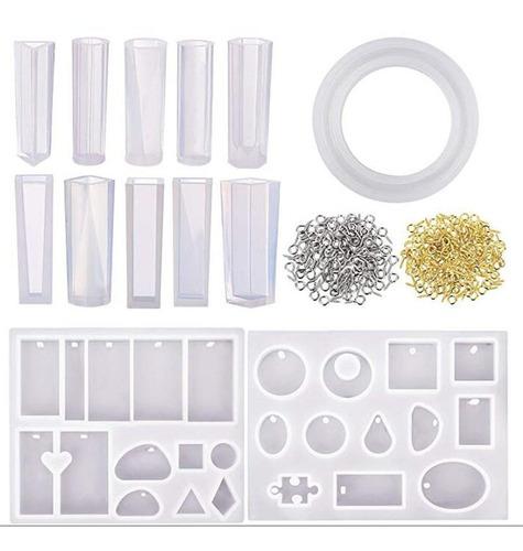 Imagen 1 de 6 de 213 Unids Kit De Molde De Fundición De Resina Silicona Para