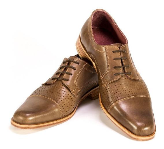 Zapato Hogh Hombre Cuero Zapatos Vestir Caballeros