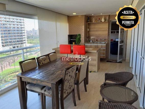 Apartamento À Venda, 179 M² Por R$ 1.690.000,00 - Cerâmica - São Caetano Do Sul/sp - Ap2580