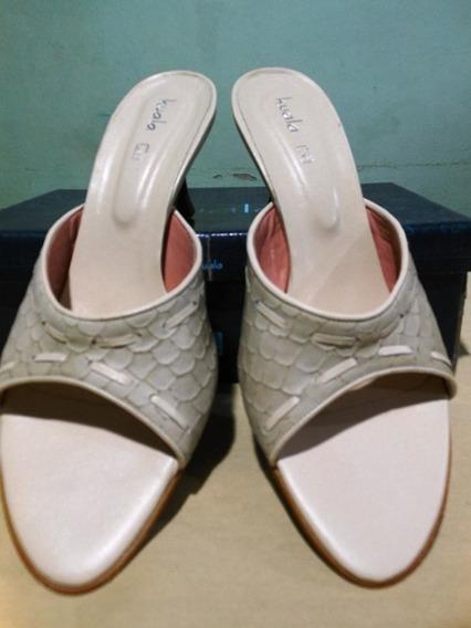 Zapatos Dama Marca Kuala Color Beige Nro 39