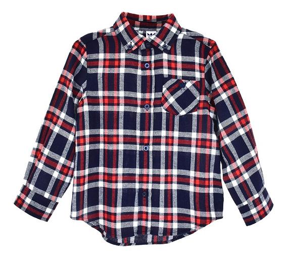 Camisas Bebé Niño Tartán Epk