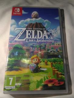 Juego De Nintendo Switch The Legend Of Zelda Links Awakening