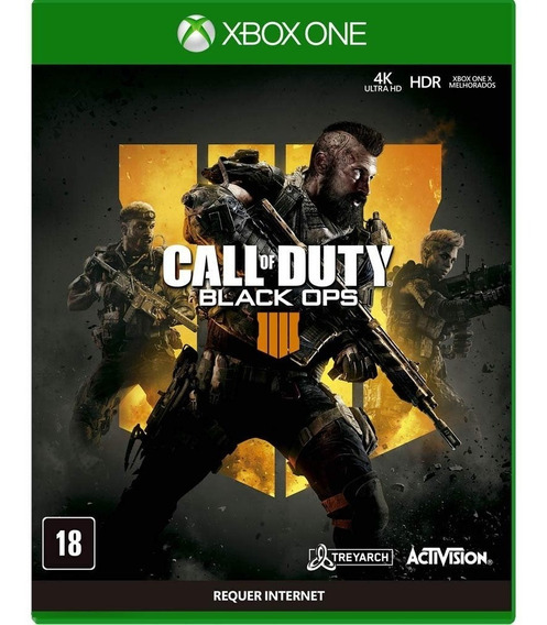 Call Of Duty Black Ops 4 Xbox One Mídia Física Em Português