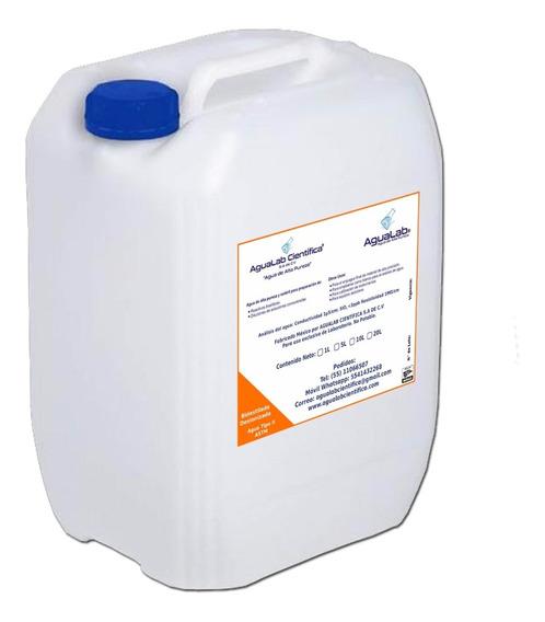 Agua Bidestilada Desionizada Para Hemodiálisis