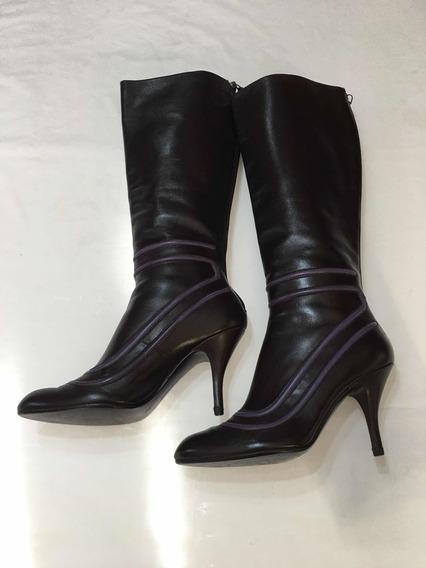 Botas Largas Ferragamo Zapatos Mujer # 23, No Guc, Fen, Pra