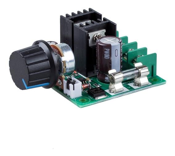 Controlador De Rotação Velocidade Pwm Motor Dc 10a 12-40v