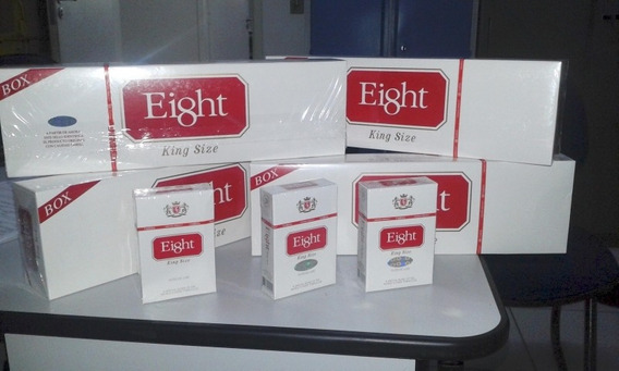 Cigarrillos Eight Box Por 1 Gruesas