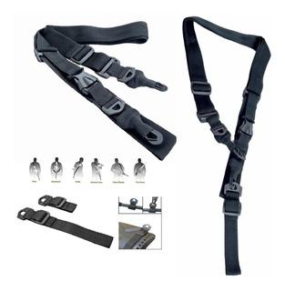 Sling Tactico 2 Y 3 Puntos Rifle Caceria Militar Porta Fusil