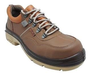 Zapato Seguridad Puntera De Acero Boris 3014 Cf Iram
