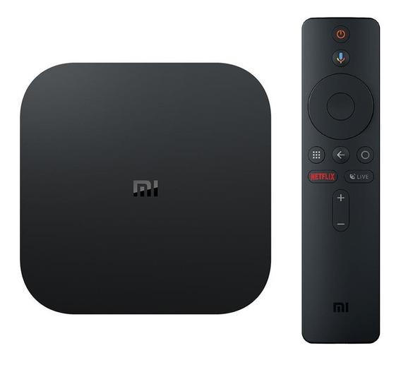 Xiaomi Mi Box S 4k Global Tv Ultra Hd - Pronta Entrega + Nf
