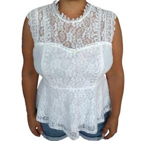 03b7782a41 Blusa Feminina Branca Ano Novo Renda Pérolas Luxo Festa G