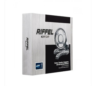 Kit Relação Riffel Top Kawasaki Ninja 250 R Com Retentor
