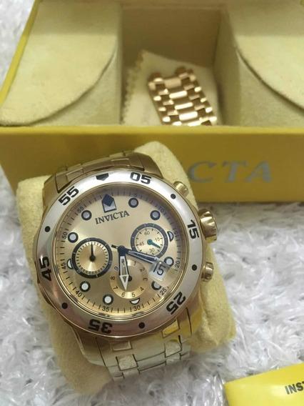 Relógio Invicta Ouro 18k Original!!