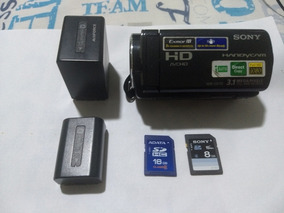 Filmadora Sony Cx110 Com Dois Cartões E Duas Baterias.