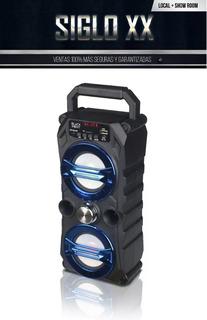 Parlante Portatil Black Point S23 Bluetooth Usb Fm ()