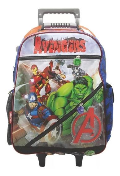 Mochila Carro Grande 18 Pulg Vengadores Avengers