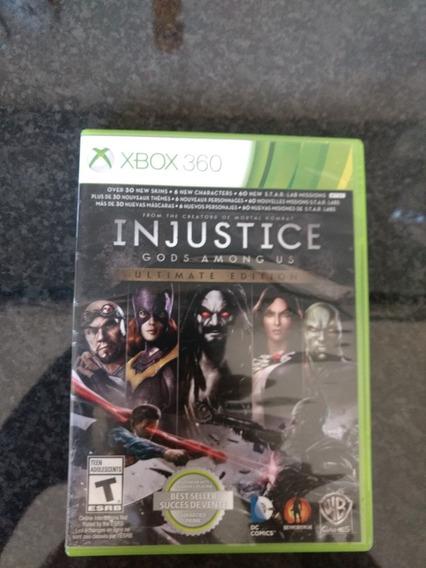 Injustice Gods Amons Us Dublado - Xbox 360